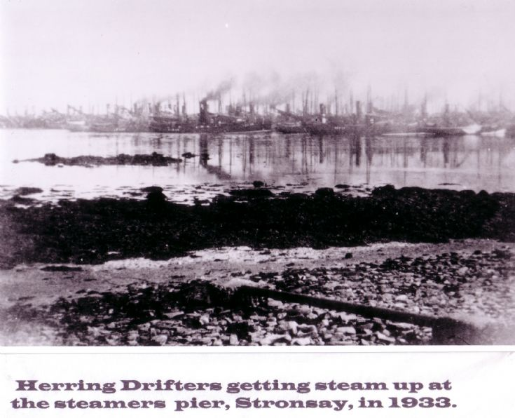 Herring Drifters Stronsay.