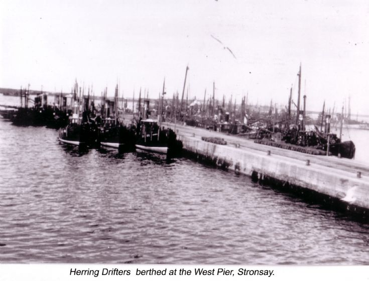 Herring Drifters at Stronsay