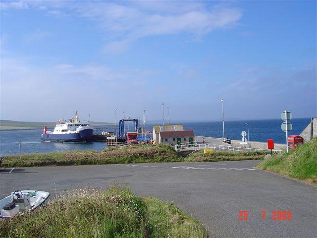 Backaland Pier, Eday