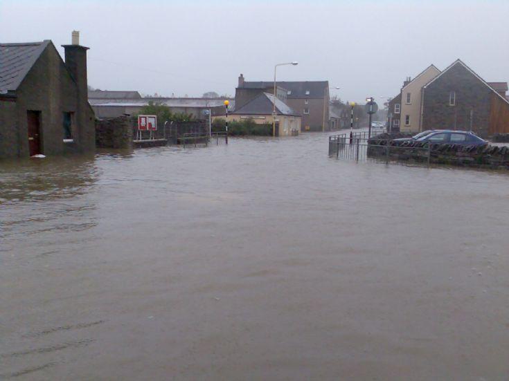 Junction Road underwater