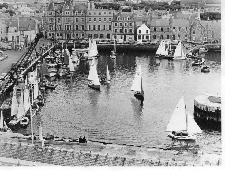 Kirkwall Harbour - Regatta Day ?