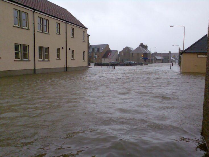 Junction Road under water