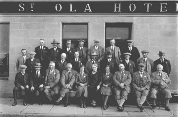 Orkney Agricultural Society Outside St Ola Hotel