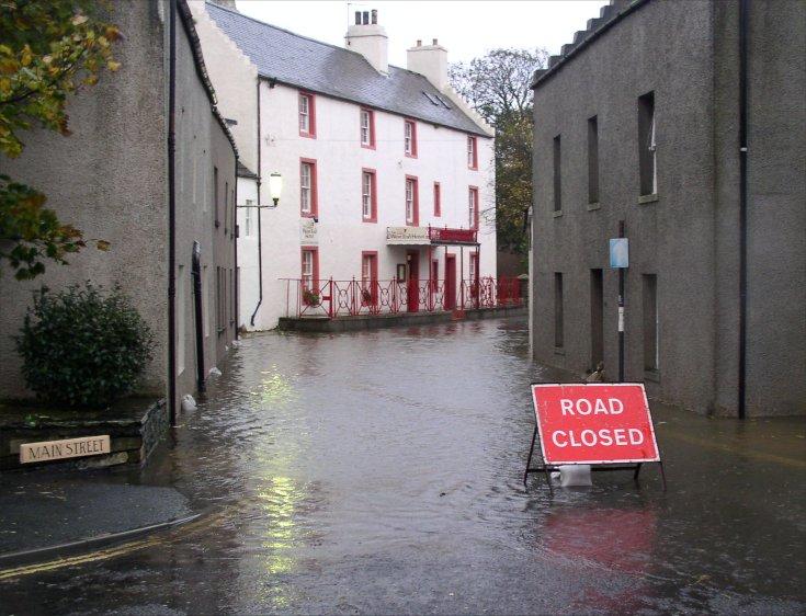 Main Street- Road Closed