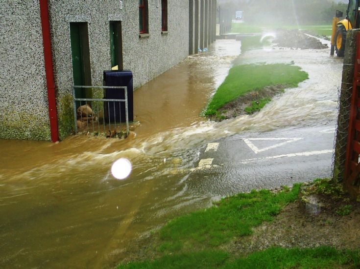 KGS being flooded
