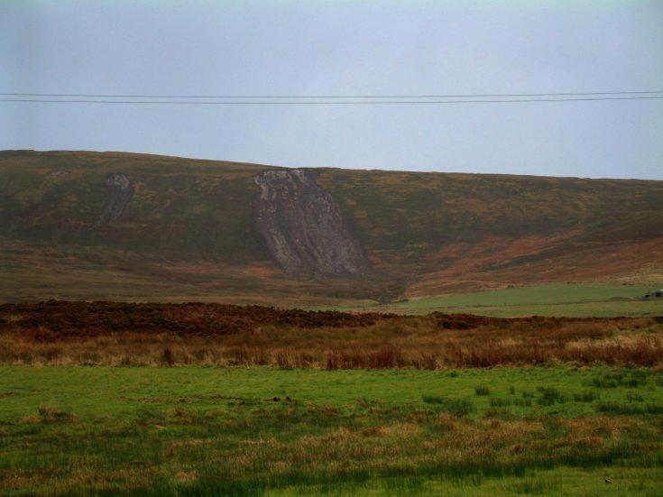 Landslides in Orphir