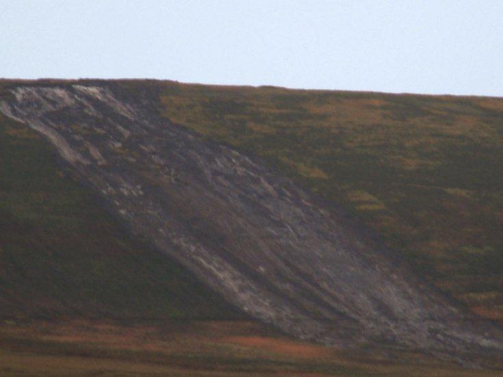 Landslide in Orphir