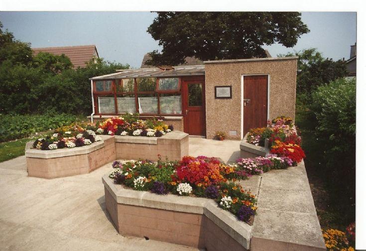 raised garden at andersquoy