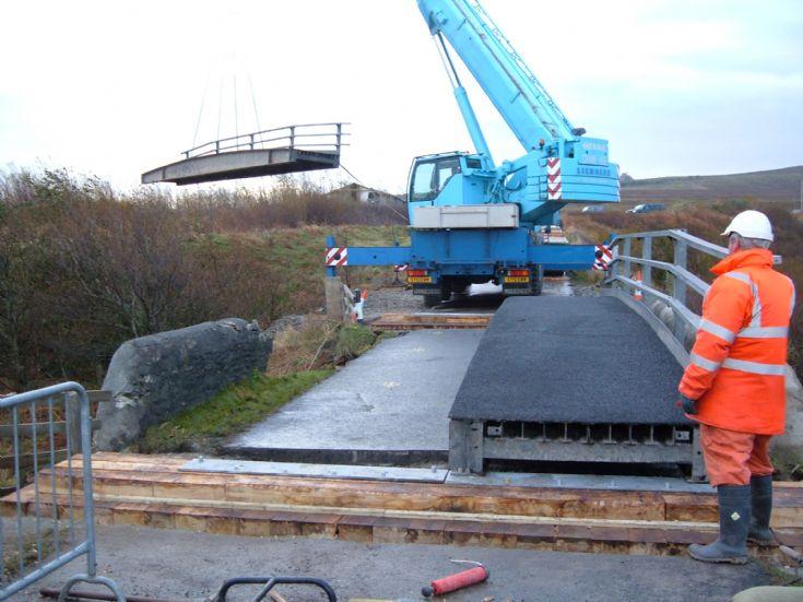 Millburn bridge replacement