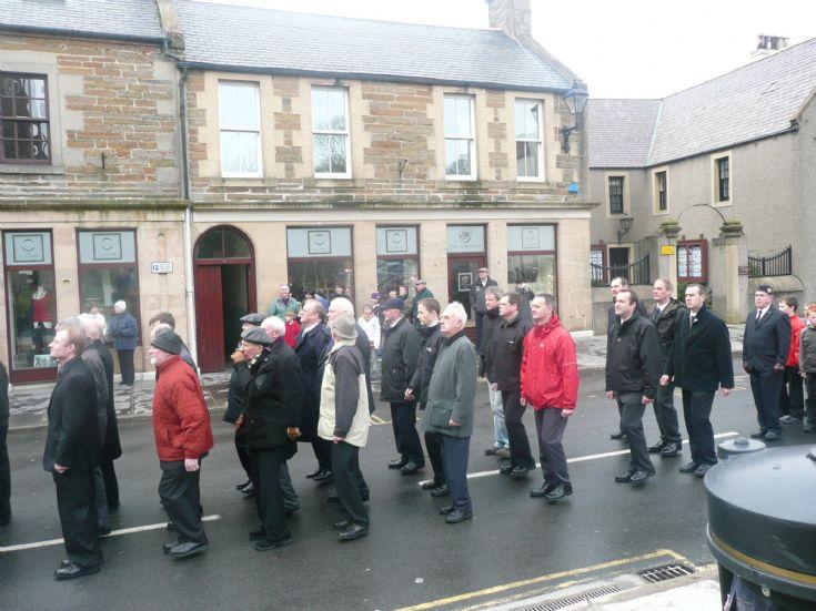 BB parade 100 years Kirkwall company