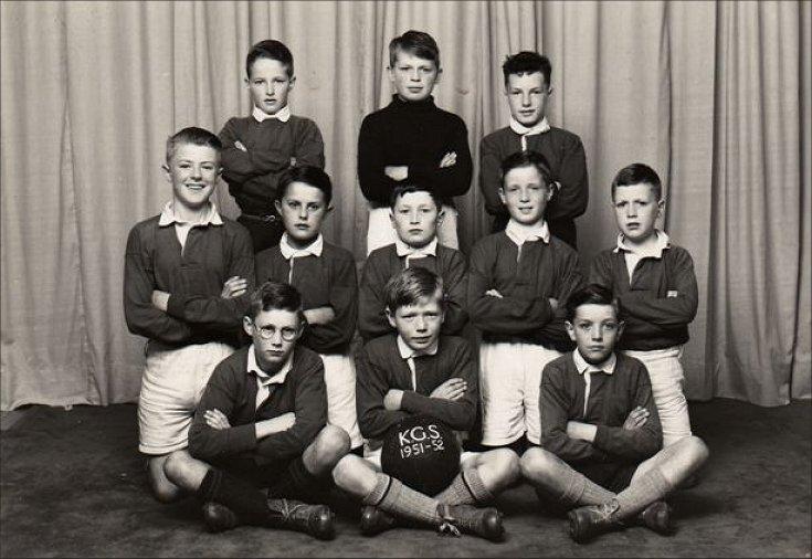 KGS football team, 1952