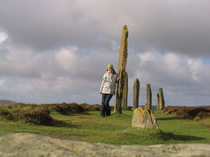 Self-portrait at the Ring of Brodgar