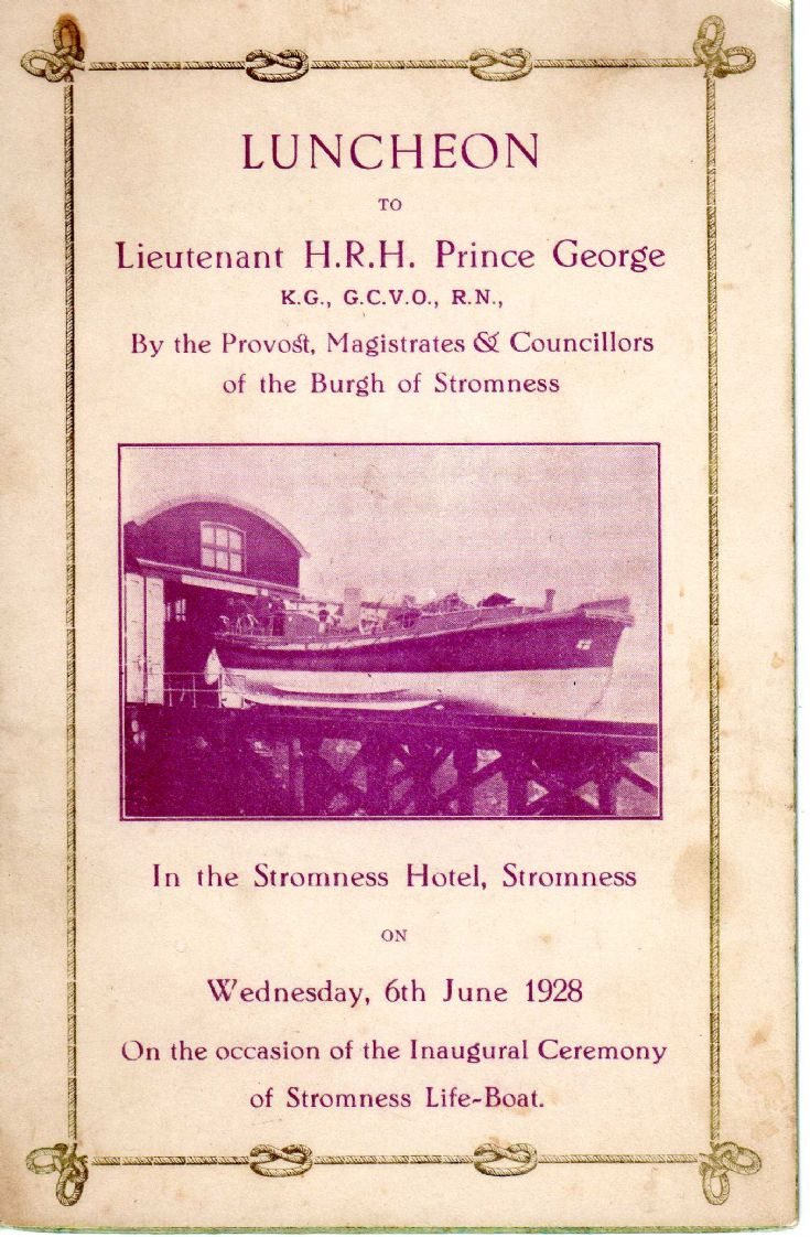 Stromness Lifeboat Luncheon
