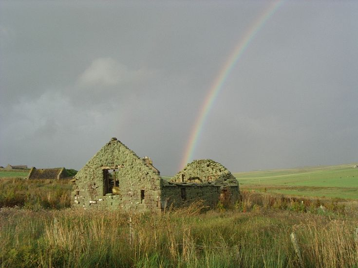 Rainbow over South Ronaldsay