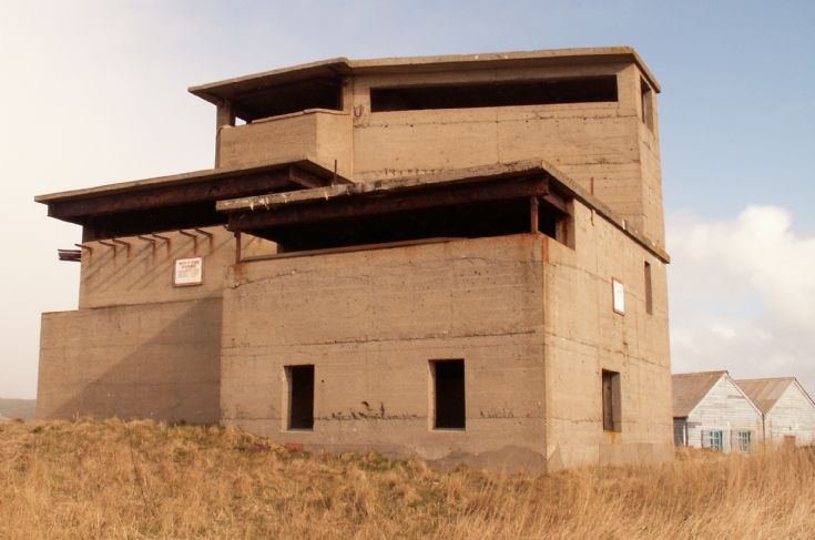 Ness Battery, Stromness, front of lookout station