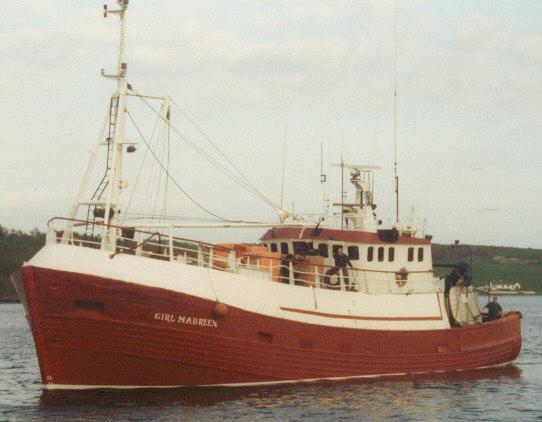 Former Orkney trawler 'Girl Maureen'