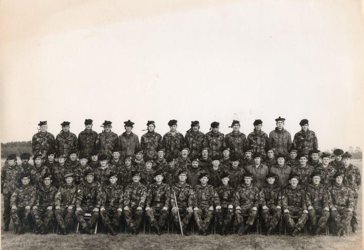 A Coy 2/51 highland camp