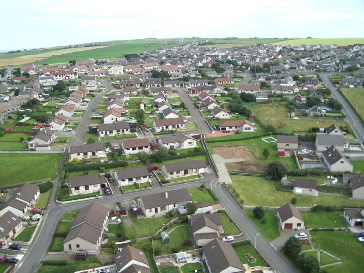 Kirkwall from a kite (again)