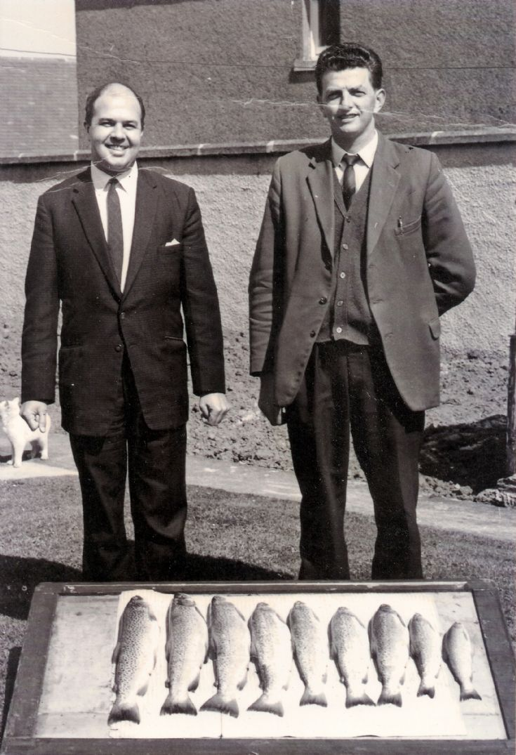 Trout caught at Skaill Loch on 23rd May 1968
