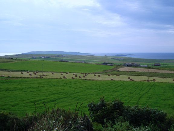 July 2004, looking towards Copinsay from Deerness