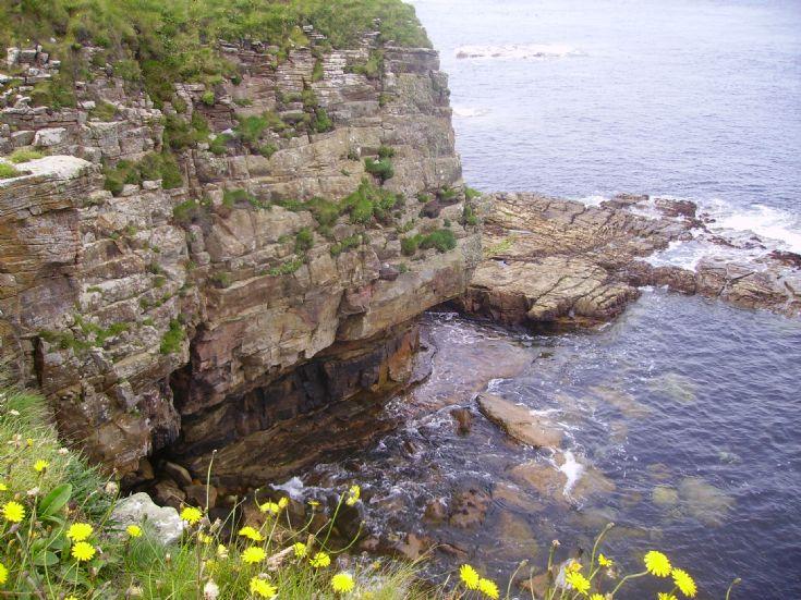 Shore below Frustigarth, Shapinsay