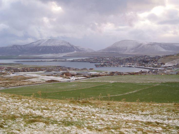 Stromness- a winter scene