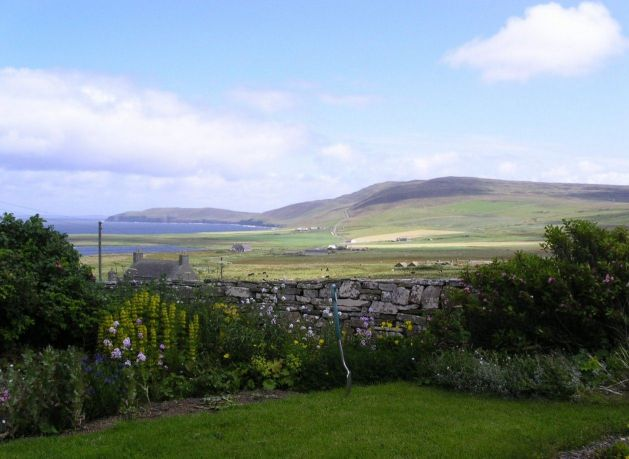 July 2004, looking east from NW Rousay