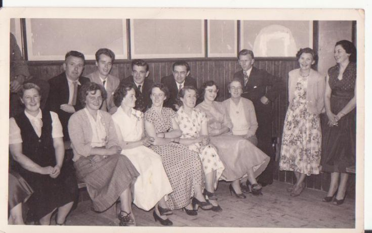 kildingue stronsay wedding 1957