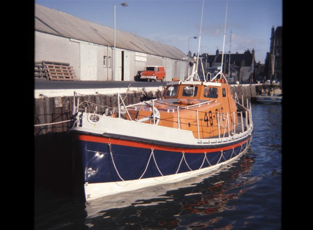 Lifeboat in Kirkwall Basin