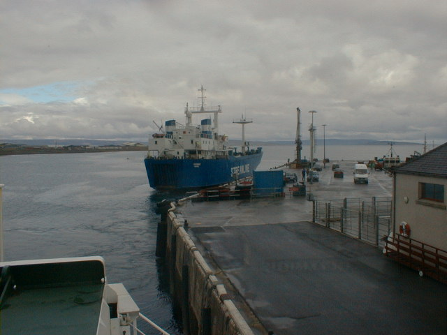 Contender leaves Kirkwall for the last time