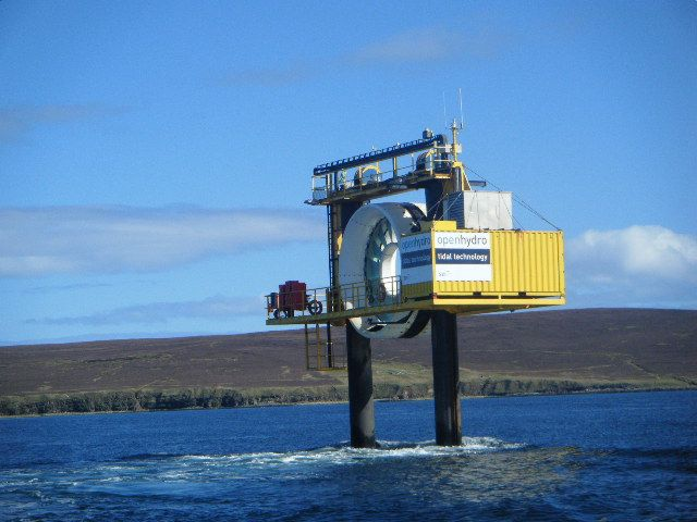 Orkney Image Library - Tidal Turbine