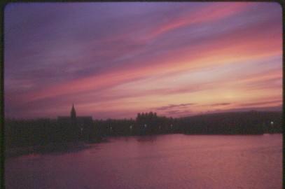 Kirkwall sunset