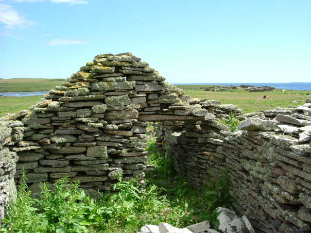 Ruined dwelling on Swona