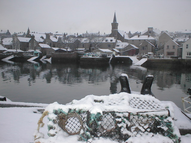 Stromness Winterscene 2