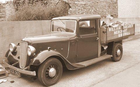 Shearer the Ironmonger's van