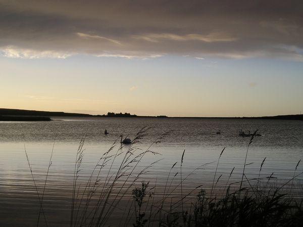 Skaill Loch at Dusk