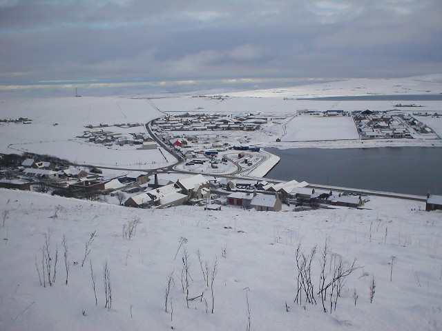Stromness Winterscene