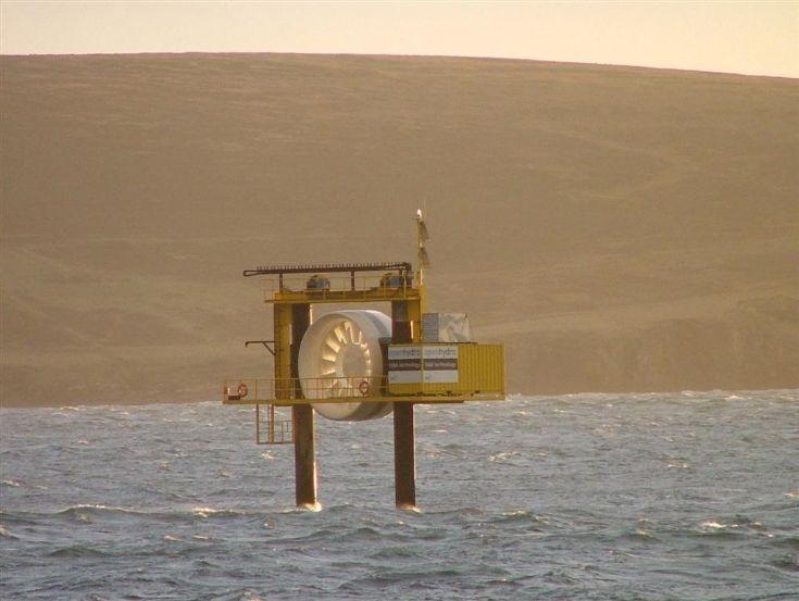 Warness turbine