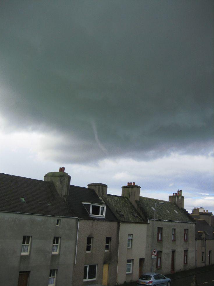 Tornado over Kirkwall