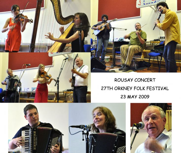 Rousay Concert - Orkney Folk Festival