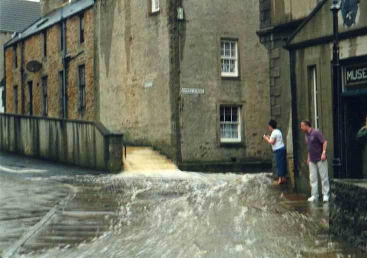 Flooding at South End, Stromness 2