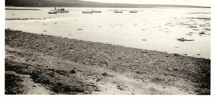 Boats In The Pow At Housebay Stronsay