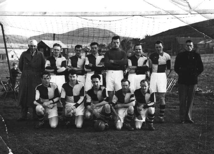 Longhope and Lyness team 1956 Corsie Cup