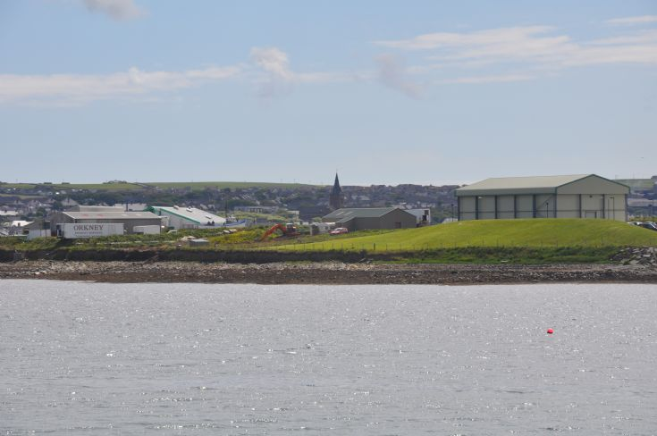 The Cathedral from Hatston Pier