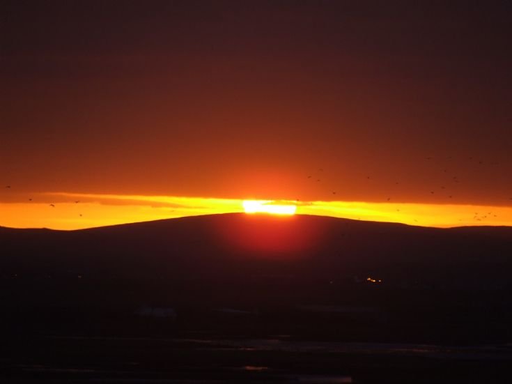 Sunrise over Keelylang 23rd Dec 2006
