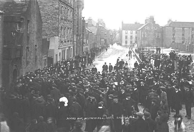 Christmas Day Men's Ba, 1909