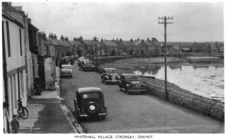 Stronsay cars