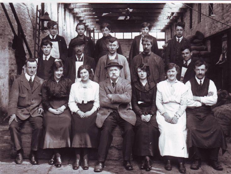 Flett & Sons staff  1916