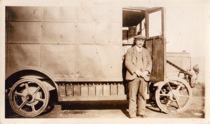 John Johnston and Vintage Van
