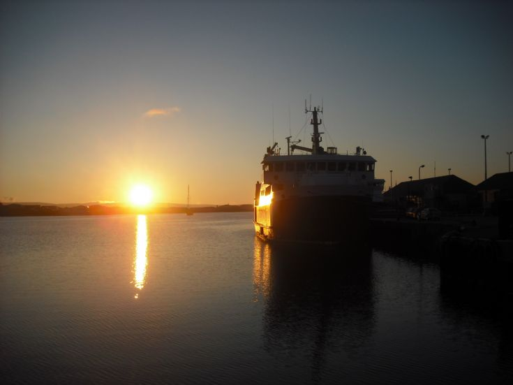 Earl Sigurd sunset.